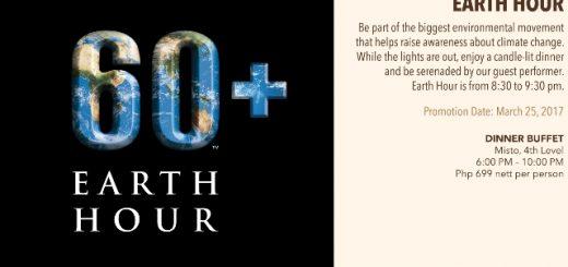 Earth Hour at Seda