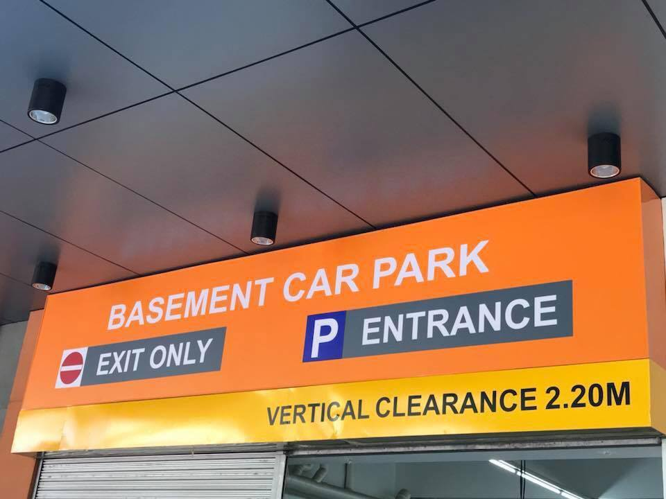 Ororama Basement Carpark