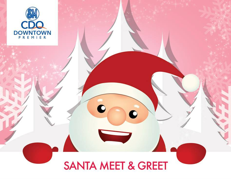 SM CDO Premier Santa Meet and Greet