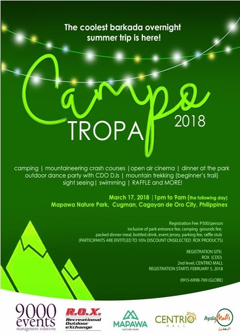 Campo Tropa 2018
