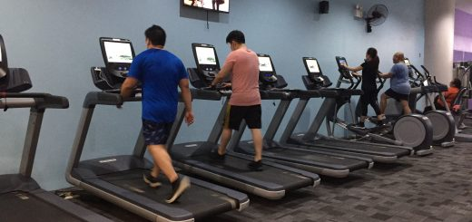 Anytime Fitness Cardio Equipment