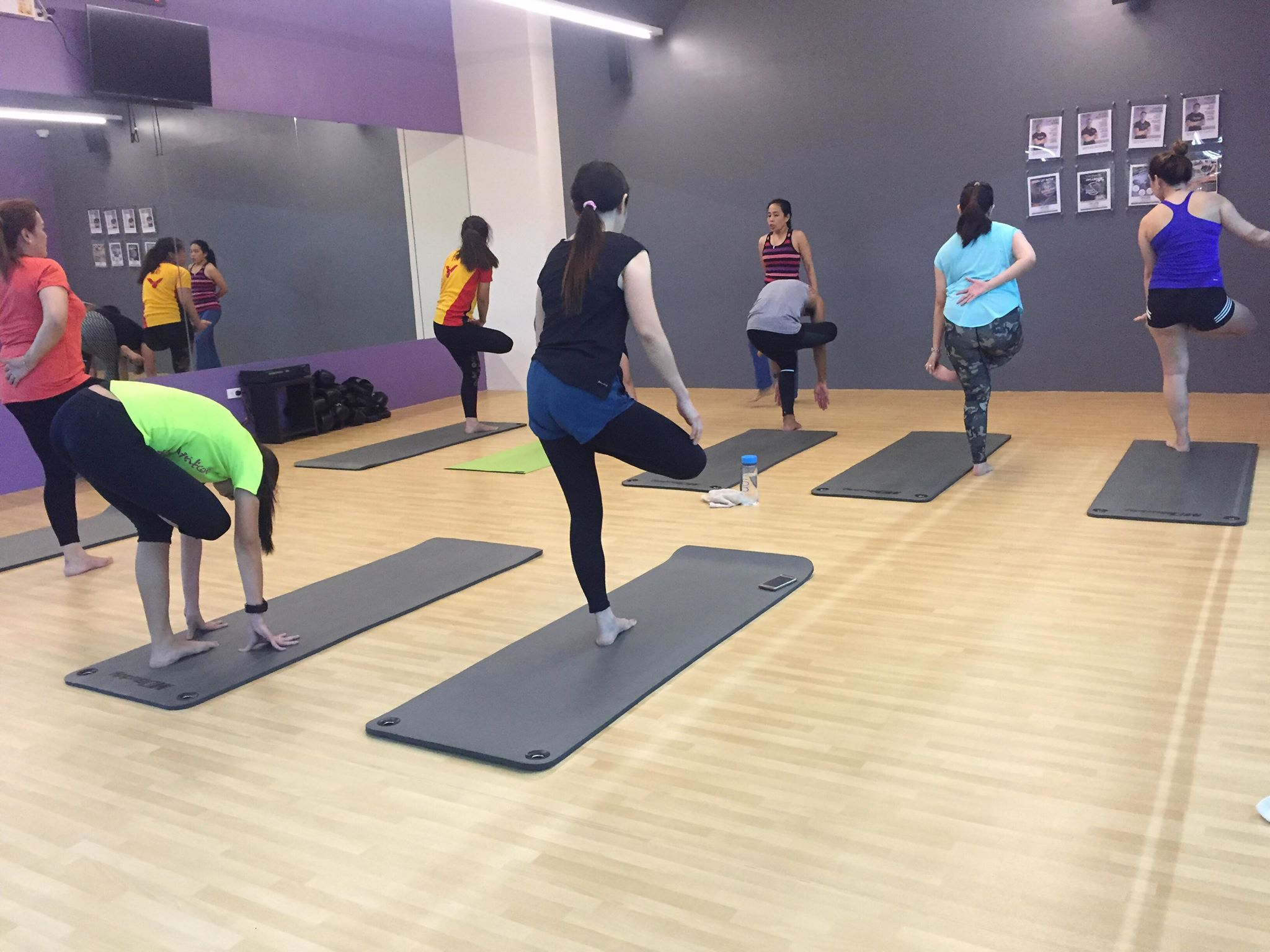 Anytime Fitness yoga