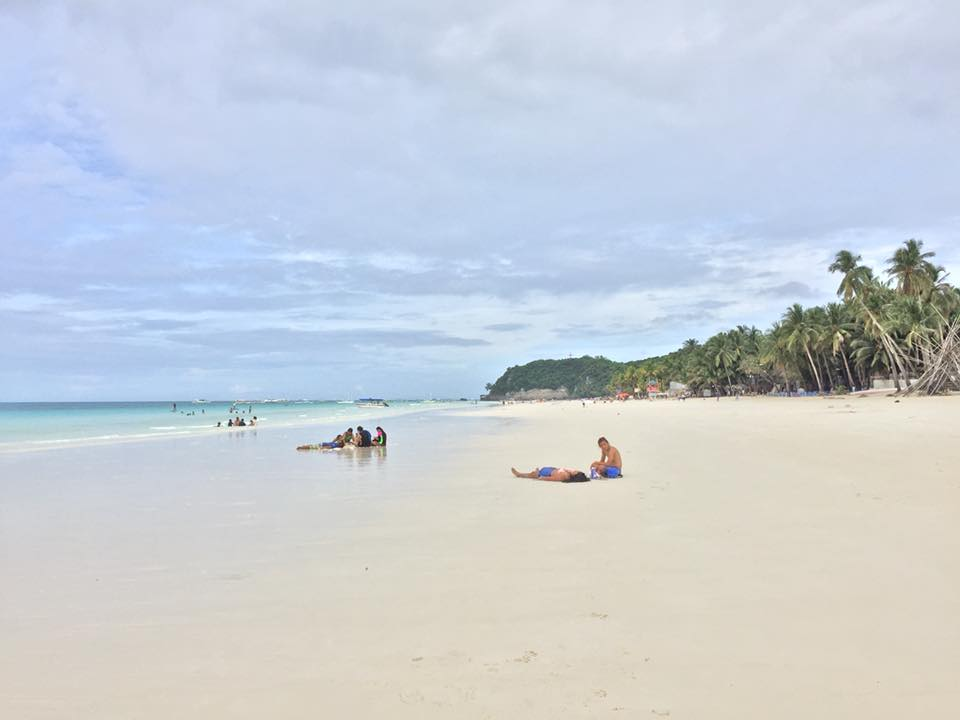 Pristine White Sand - Boracay