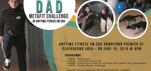 Anytime Fitness Metafit Dad Challenge