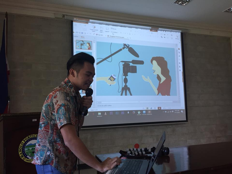 Manolo Fortich Bloggers Association Blogging Workshop