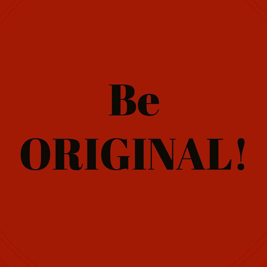Be Original #makeITsafePH