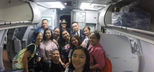CDO Bloggers and Iligan Bloggers on Philippine Airlines