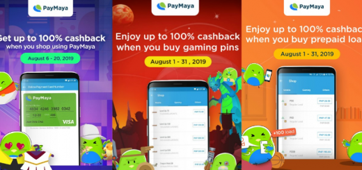 PayMaya August 2019 Perks and Discounts