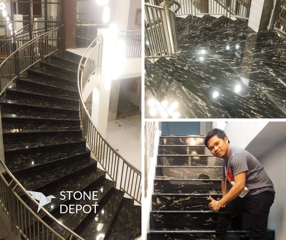 Stone Depot Granite Stairs