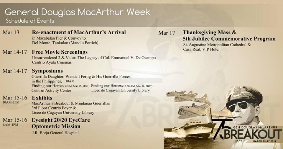 General Douglas MacArthur Week CDO