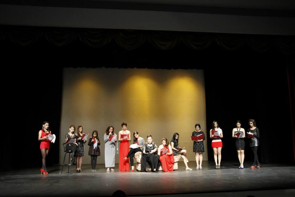 The Vagina Monologues 2014 at Rodelsa Hall