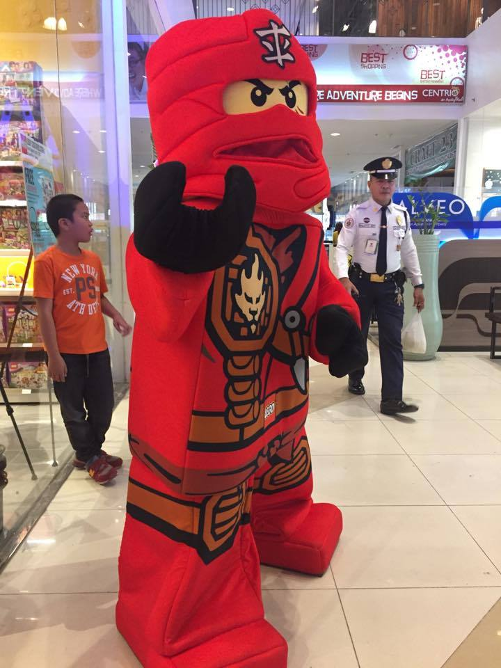 Lego's Red Ninja Mascot
