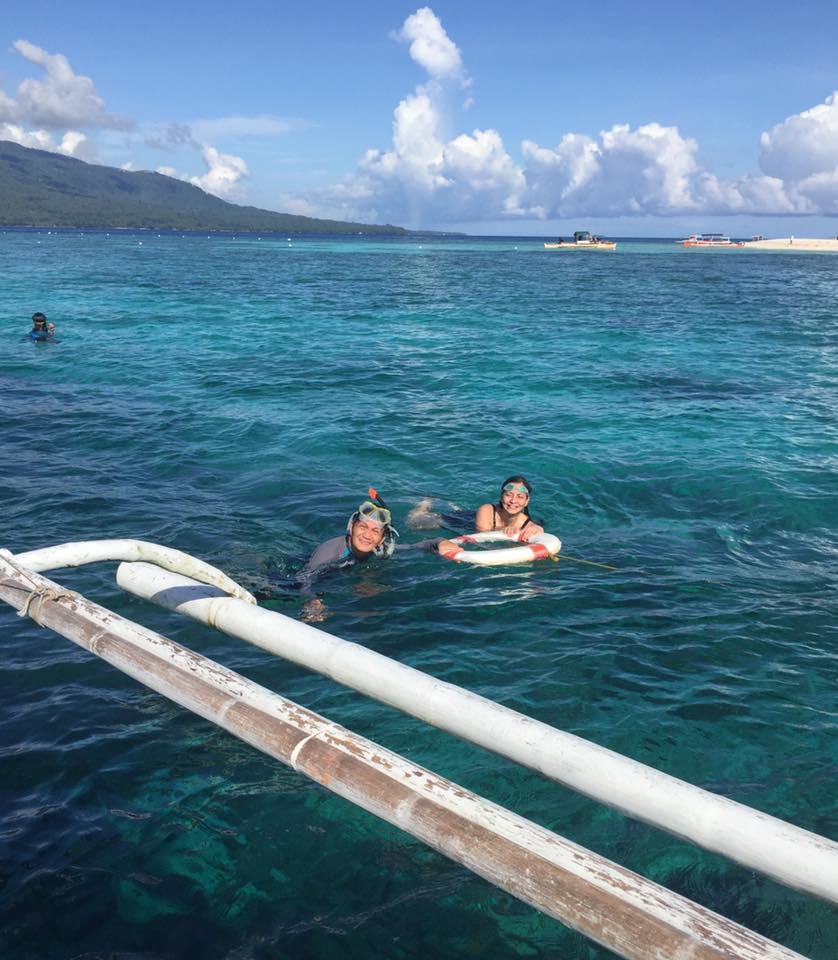 Snorkeling at Mantigue