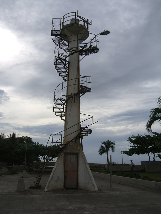 The old lighthouse at the Parola.