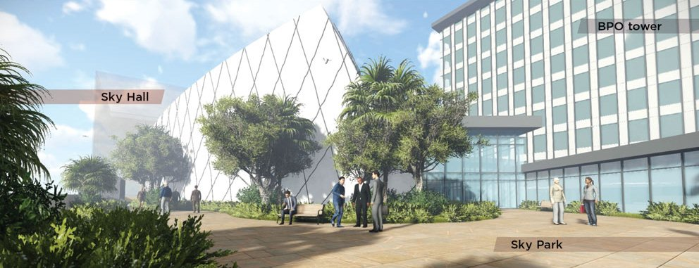 Architect's Perspective - SM CDO Downtown Premier Sky Garden