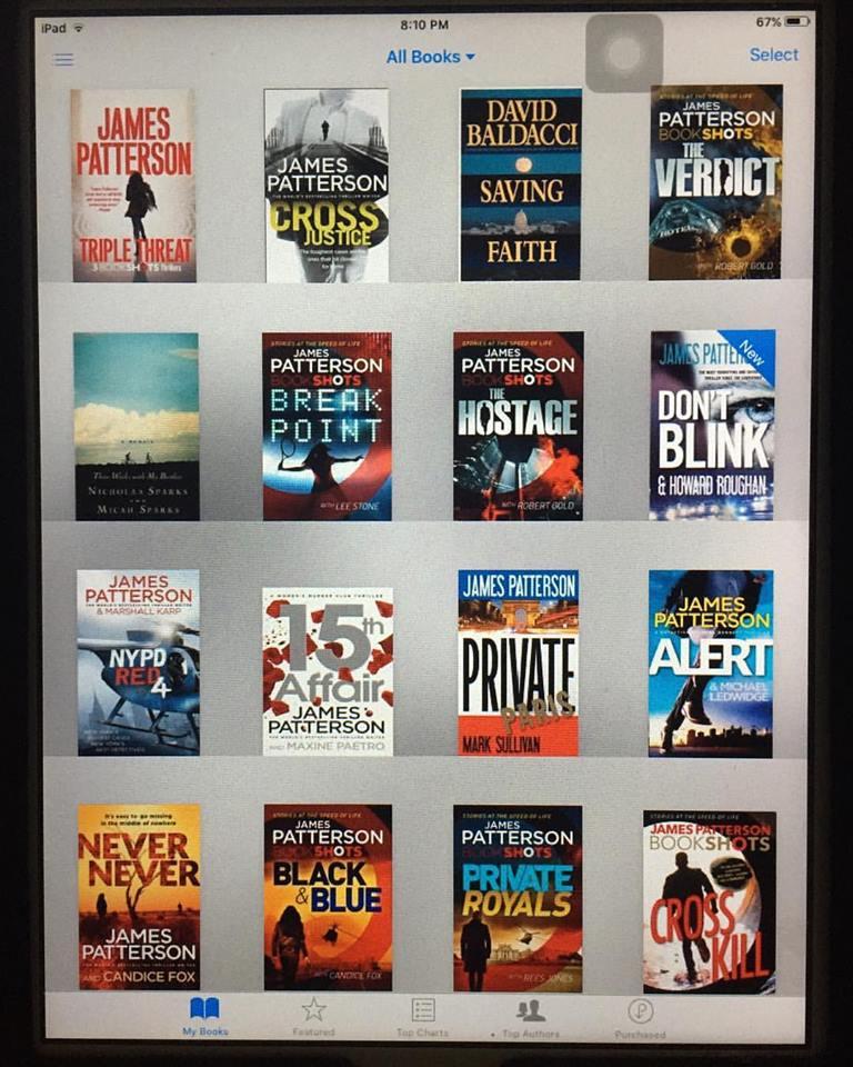 Books on my iPad