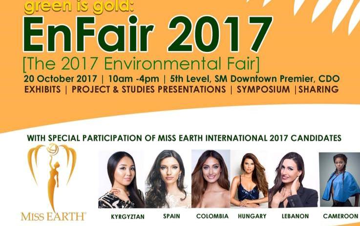 Miss Earth Candidates Support EnFair