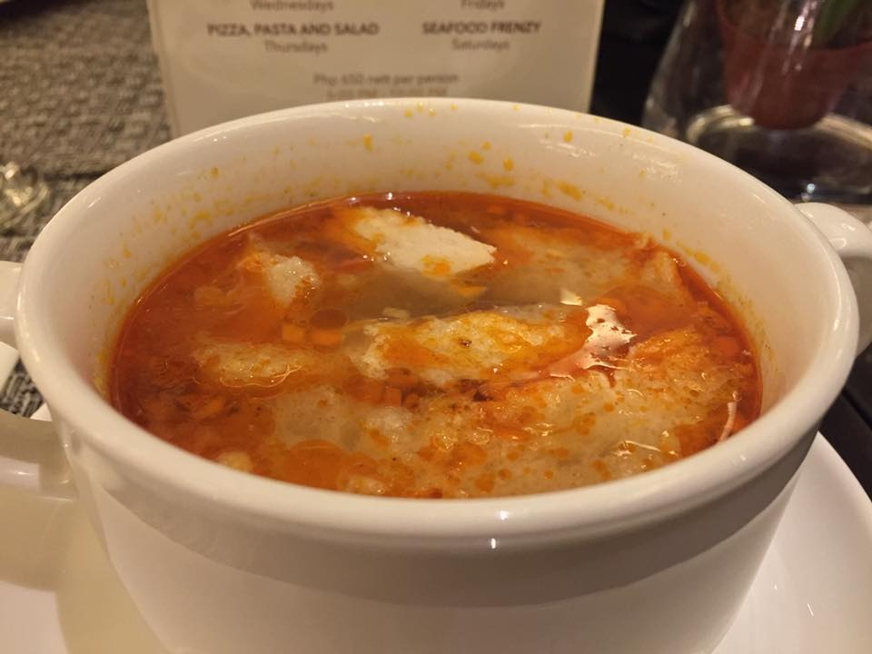 Flavors of Spain Sopa de ajo