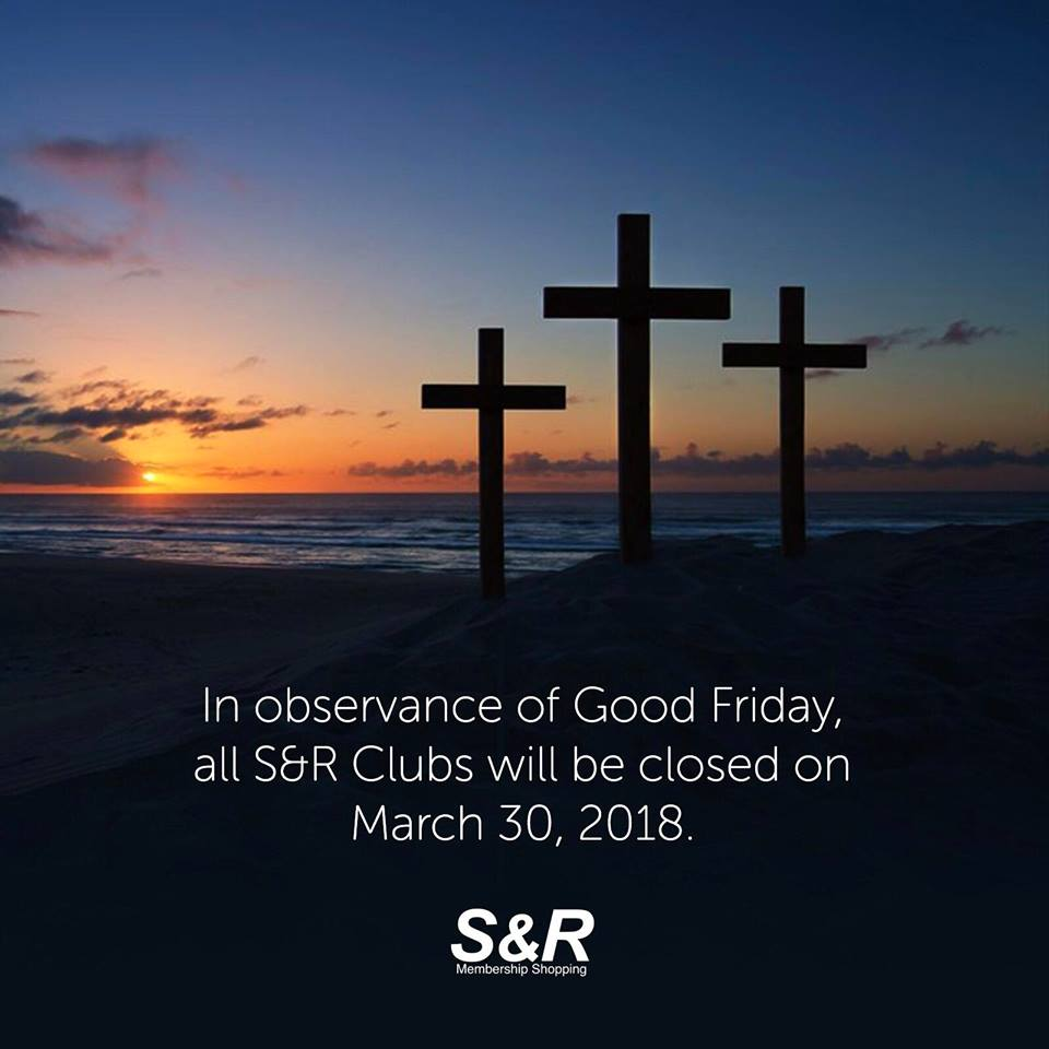 S&R Holy Week Sched 2018