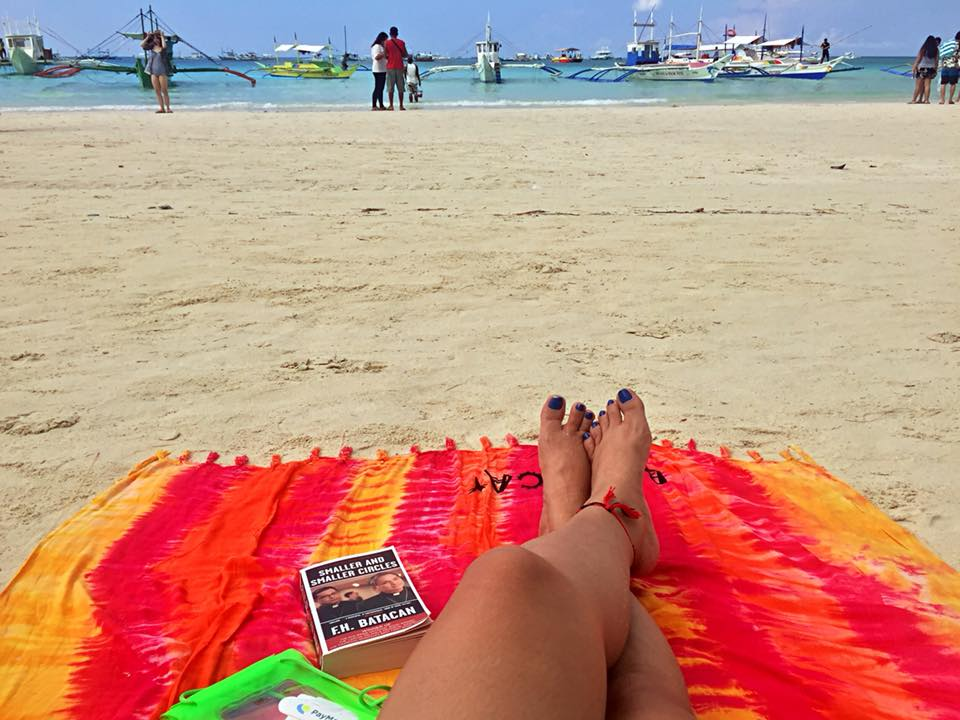 Early morning at the beach in Boracay