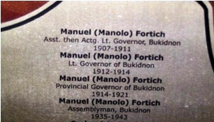 Manolo Fortich Awards