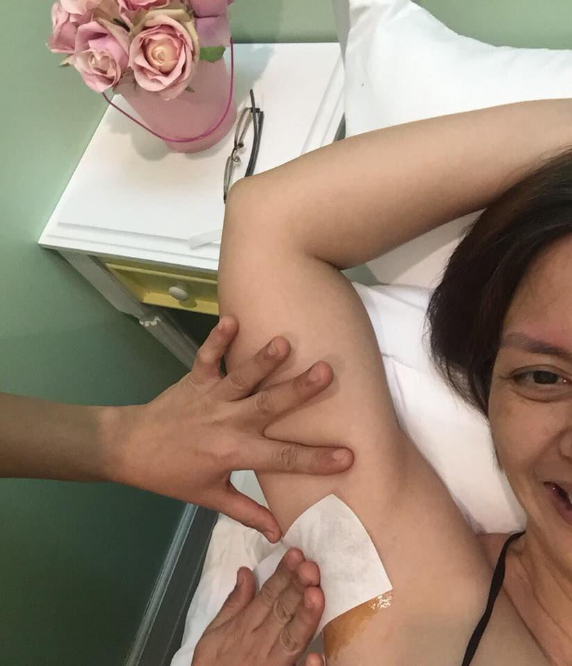 Hey Sugar underarm waxing 3