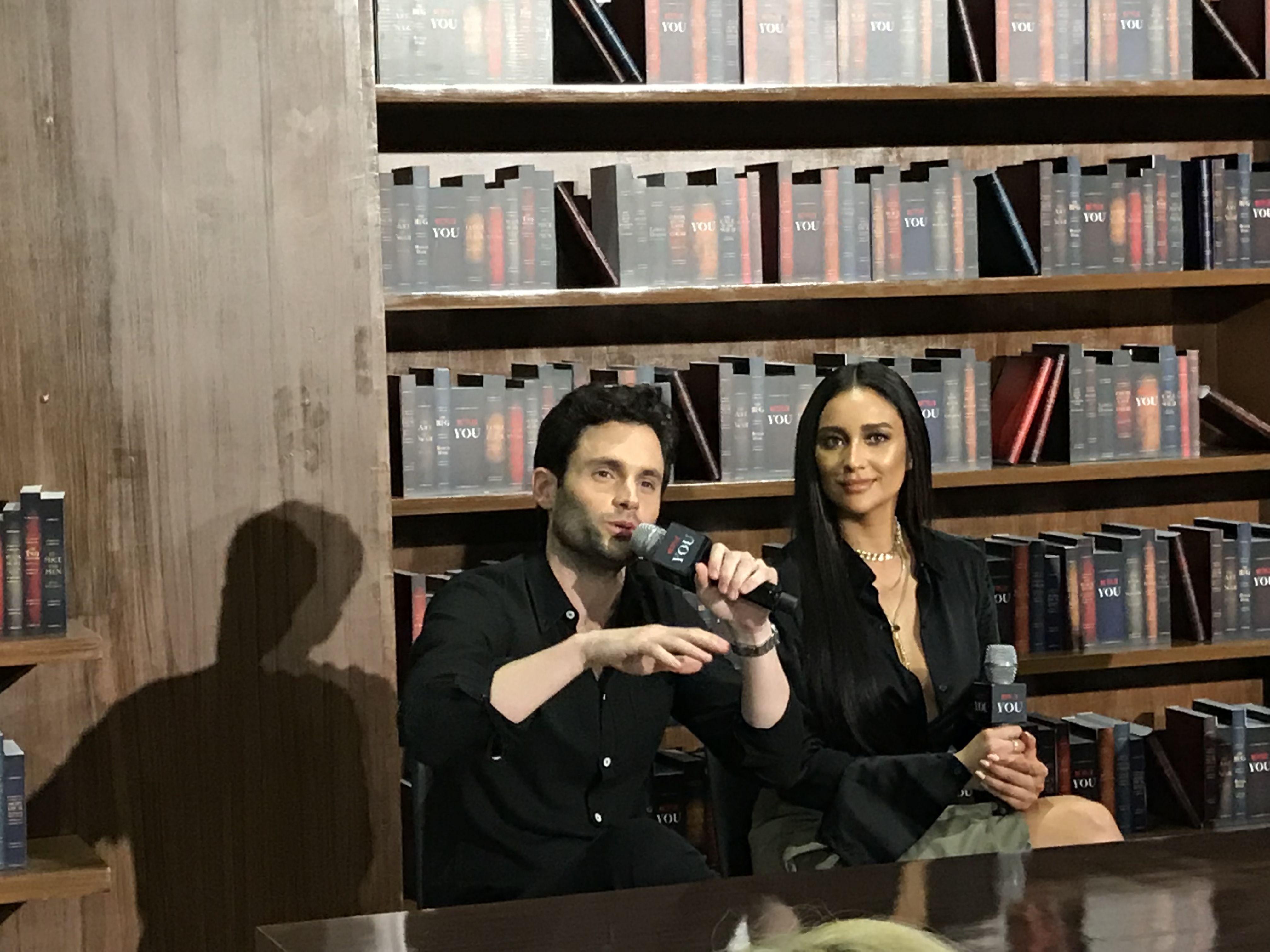 In Conversation with YOU with stars Penn Badgley and Shay Mitchell