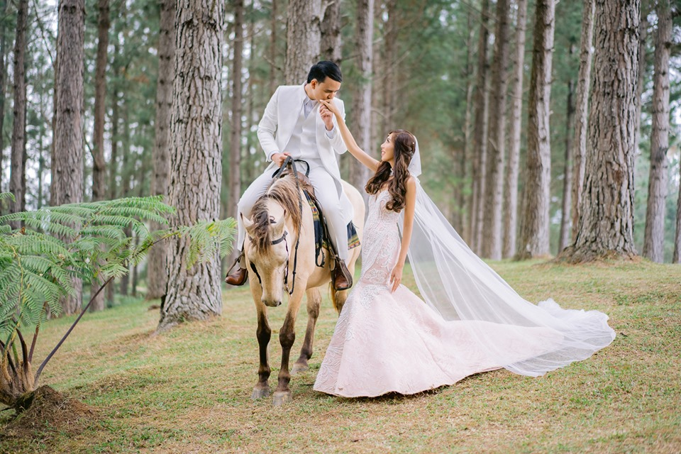 Kor and Ken's Enchanting Fairy Tale Wedding