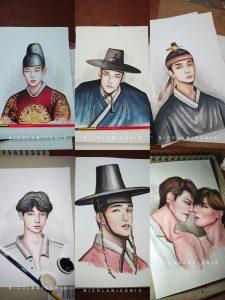 Nicolas Salcedo Korean Drawing1