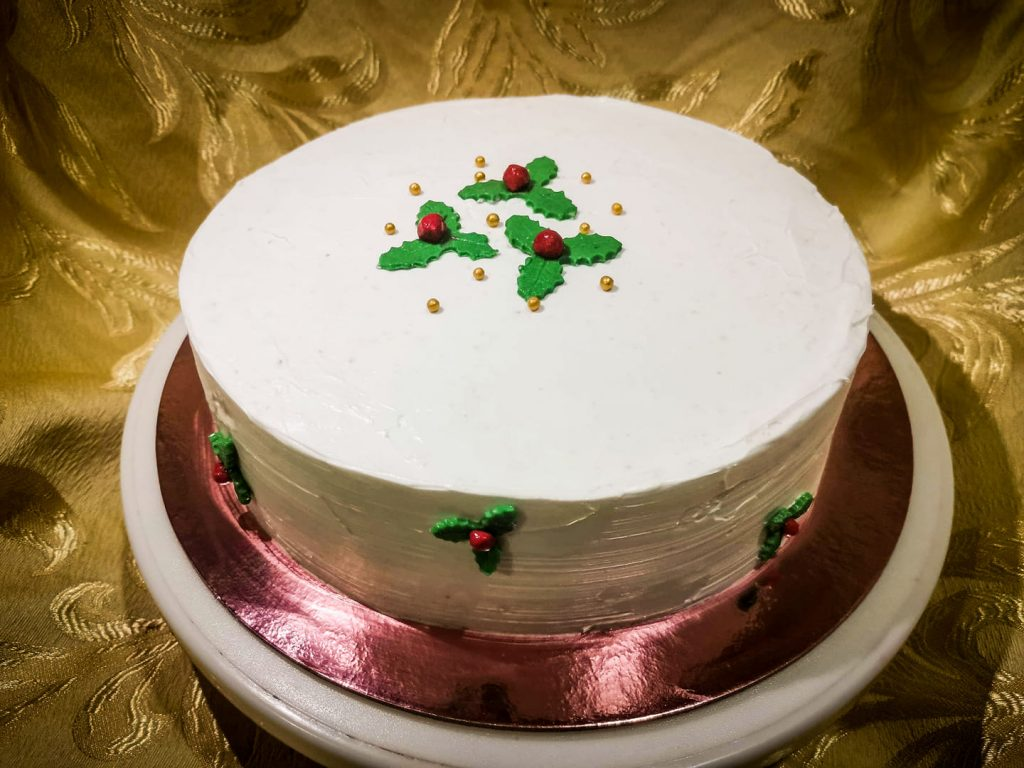 Cakes and More Christmas Cake - Small