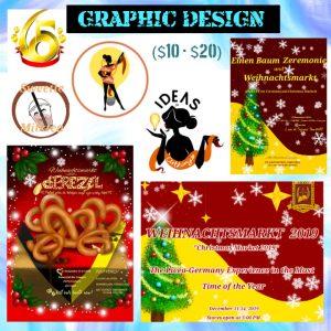 Glendy Graphic Design rates