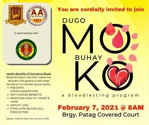 LDCUAA Blood Letting Activity 2021 Dugo Mo, Buhay Ko
