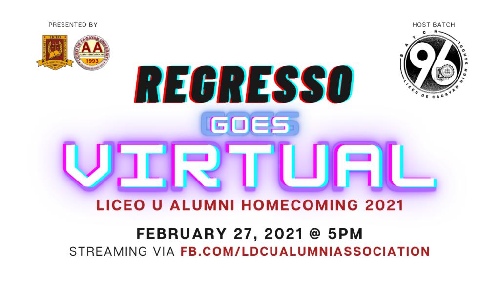 Regresso Goes Virtual 2021