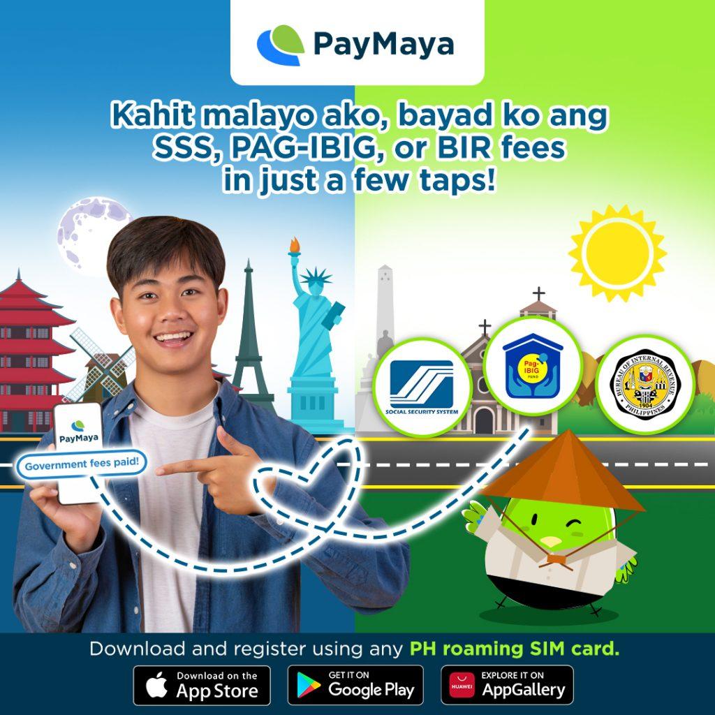 PayMaya Overseas - Goverment Bills