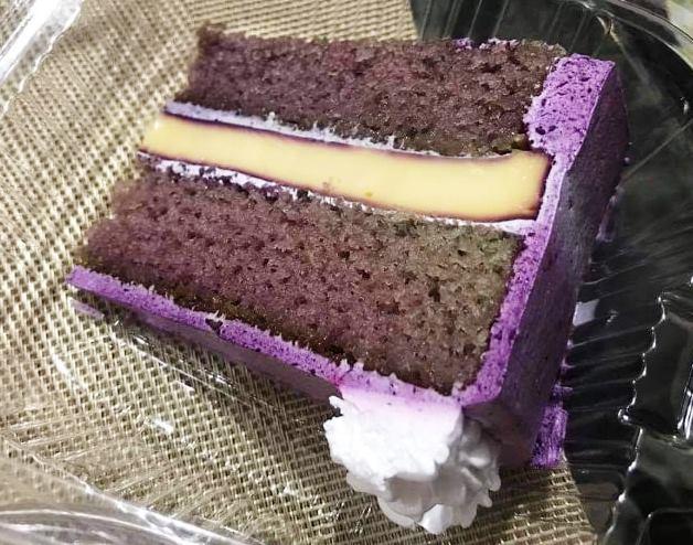 Sharmaine's Cakes and Pastries Ube Flan Cake