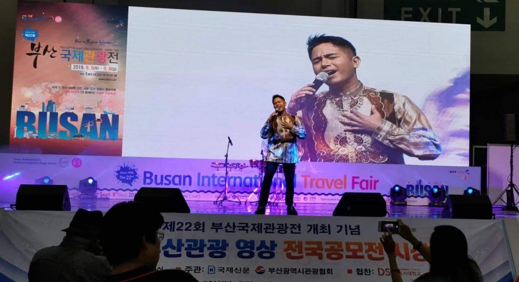 David Mercado in Busan