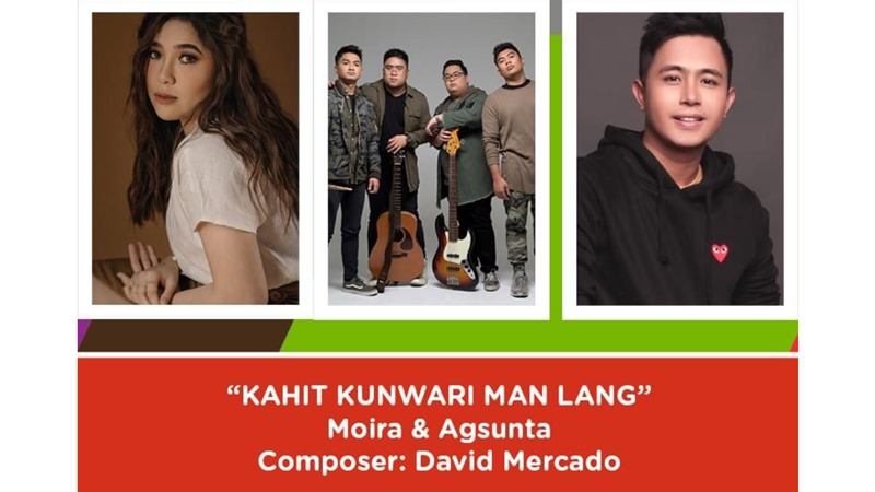 Davie Mercado, Moira dela Torre, and Agsunta - Kahit Kunwari Man Lang